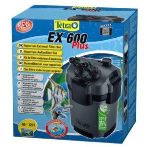Внешний аквариумный фильтр Tetra EX 600 plus (60-120л)
