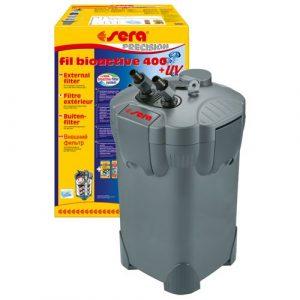 Внешний фильтр для аквариума Sera Fil Bioactive 400 + UV 1100 л/ч до 400 литров