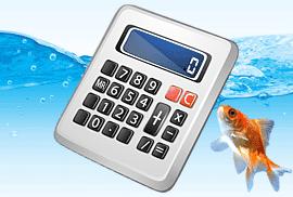 Калькулятор расчета стоимости аквариумов