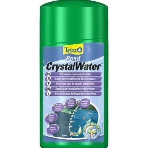 Tetra Pond Crystal Water 500мл, на 10000 л, средство для очистки прудовой воды от мути
