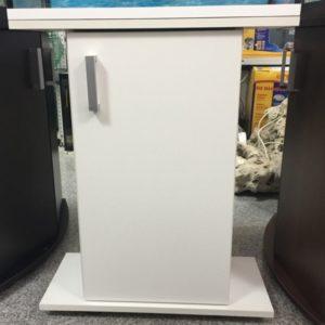 Тумба белая под аквариум объёмом 50 литров