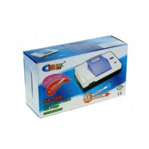 Компрессор для аквариума на аккумуляторе SEA STAR HX-968 12w 2*4 л/мин