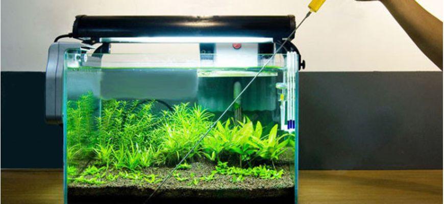 Удобрение для аквариума своими руками из железного купороса