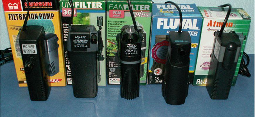как установить фильтр в аквариум для рыбок