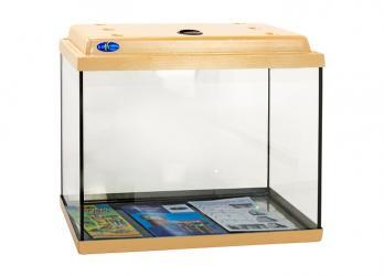 Вымойте и упакуйте аквариум.