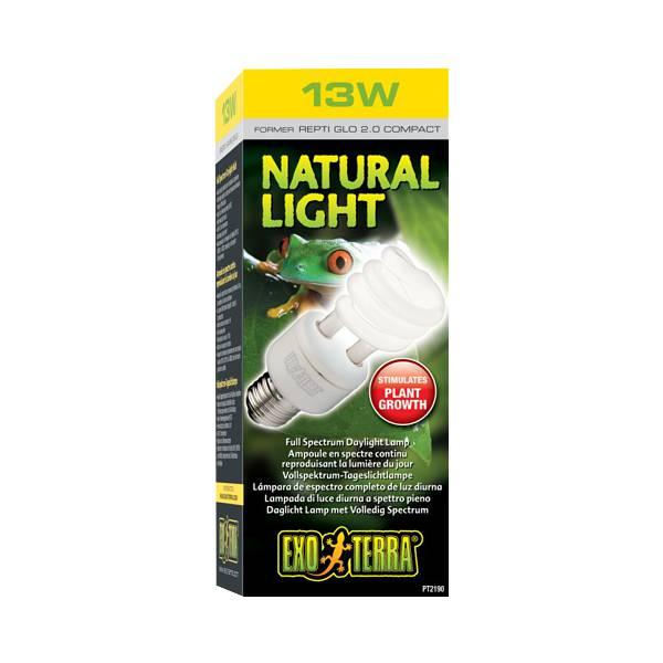 Лампа для террариума с полным спектром Repti Glo 2.0 Compact, Т10/13 Вт