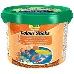 Tetra Pond Color Sticks 10л, (палочки) корм для окраски прудовых рыб