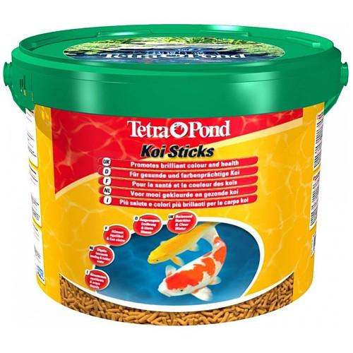 Tetra Pond KoiSticks 10л, (палочки) корм для прудовых рыб