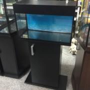 Аквариум черного цвета 50 литров
