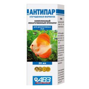 Лекарство для аквариумных рыб АНТИПАР