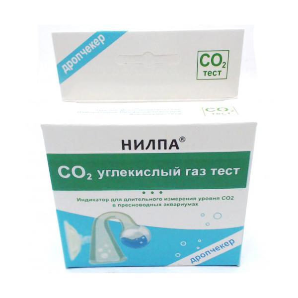Тест НИЛПА CO2 – тест для длительного измерения уровня углекислого газа в воде (дропчекер + индикатор)