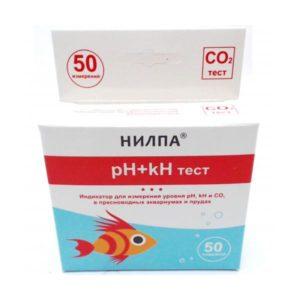 Тест НИЛПА pH+kH – тест для измерения уровня pH, kH и CO2 в воде