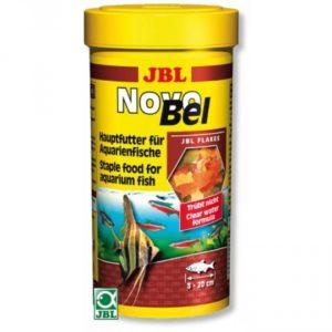 Корм для всех аквариумных рыб JBL NovoBel - в форме хлопьев , 1000 мл. (160 г.)